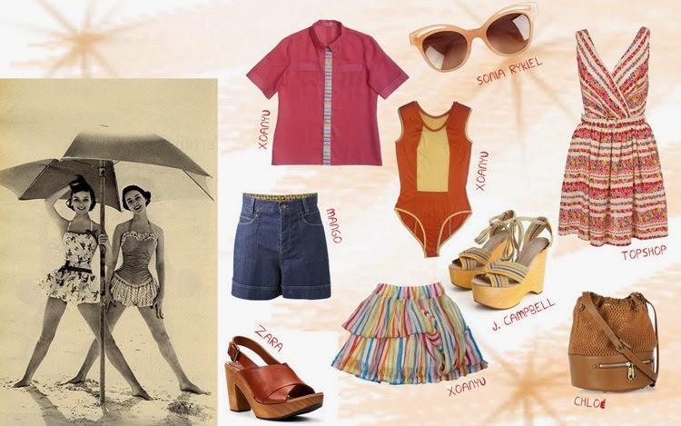Collage prendas de verano inspiración Beach Boy | Stylefeelfree