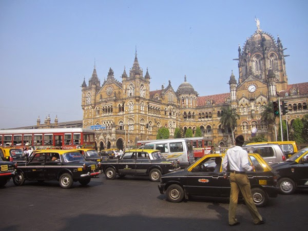 Estación Chhatrapati Shivaji | India | Stylefeelfree