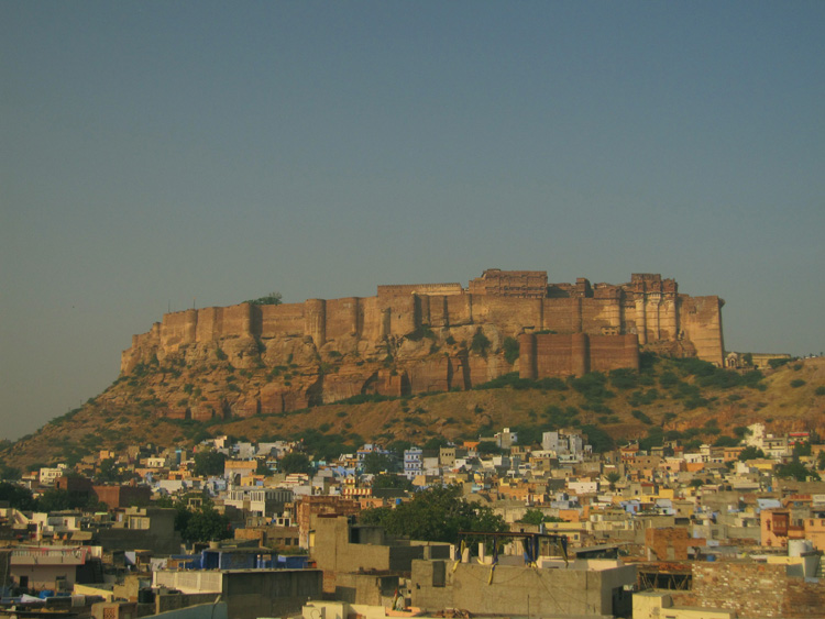 Jodhpur, la ciudad del Mehrangarh