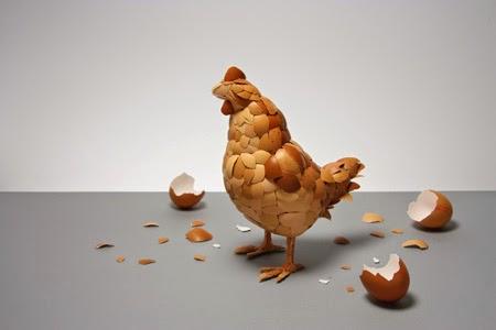 What came first Kyle Bean   el huevo en el arte   Stylefeelfree