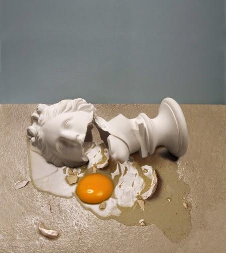 Robert Gligorov | el huevo en el arte | Stylefeelfree