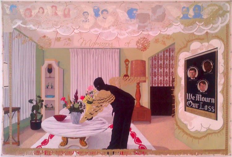 Exposición de Kerry J. Marshall en el Palacio de Velázquez y en la Fundación Antonio Tàpies | Stylefeelfree