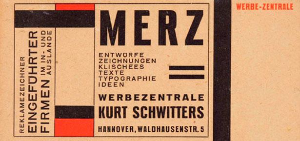 Kur Schwitters. Dualismo entre vaguardia y publicidad