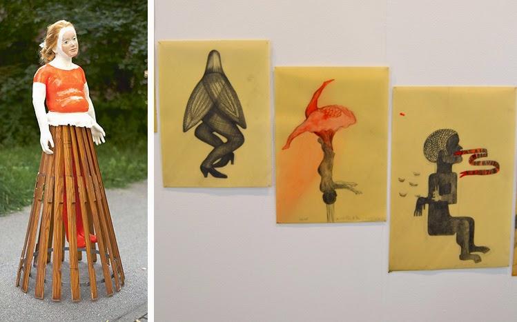 Obras de Veronika Veit de galería Esther Donatz y Sandra Vásquez de la Horra de galería Senda | stylefeelfree
