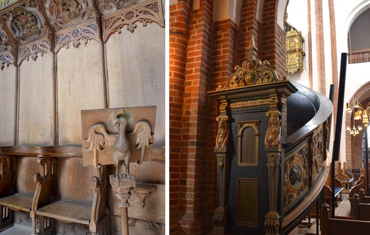 interior de la catedral de Roskilde, Dinamarca | stylefeelfree