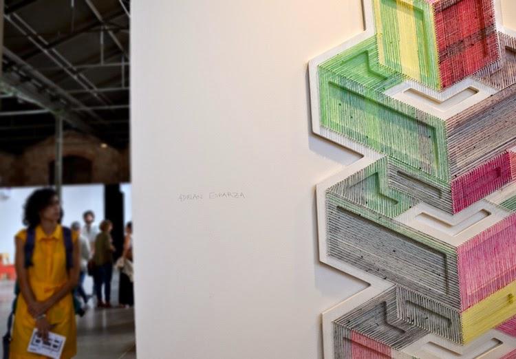 Detalle de la obra de Adrián Esparza en Summa 2014 | stylefeelfree