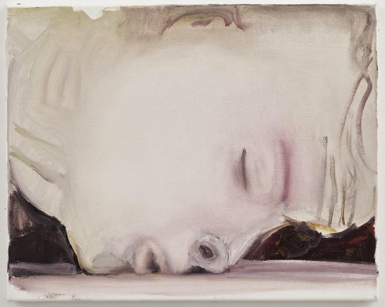 obra The kiss por Marlene Dumas. Exposición The Image as Burden | Stylefeelfree