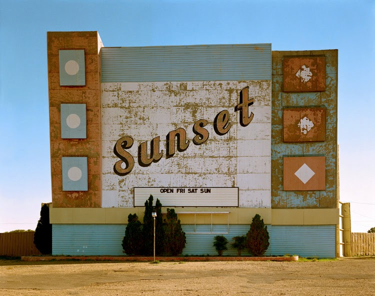 West Ninth Avenue, Amarillo del fotógrafo Stephen Shore | stylefeelfree