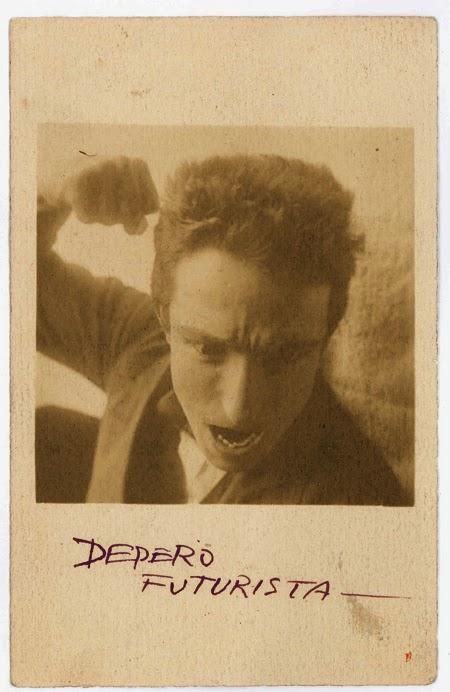 Autorretrato con puño, Fortunato Depero en exposición Depero Futurista, Juan March | stylefeelfree