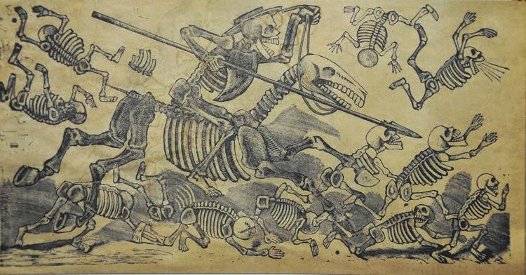 Arte mexicano, festividad de los muertos | Stylefeelfree