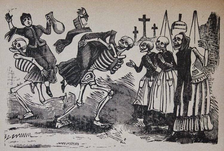 Elogio a la muerte en la obra de Guadalupe Posada