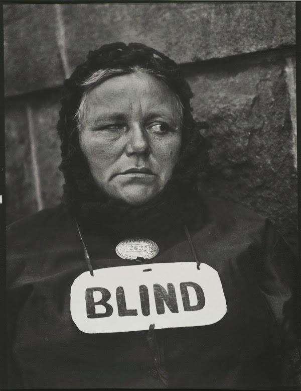 Fotografía | Blind Woman, New York, 1916 | Stylefeelfree
