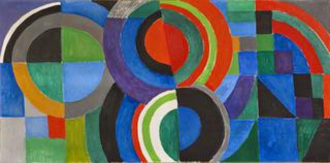 obra Rythme couleur de Sonia Delaunay con motivo de la exposición en el museo de arte moderno de Paris | Stylefeelfree