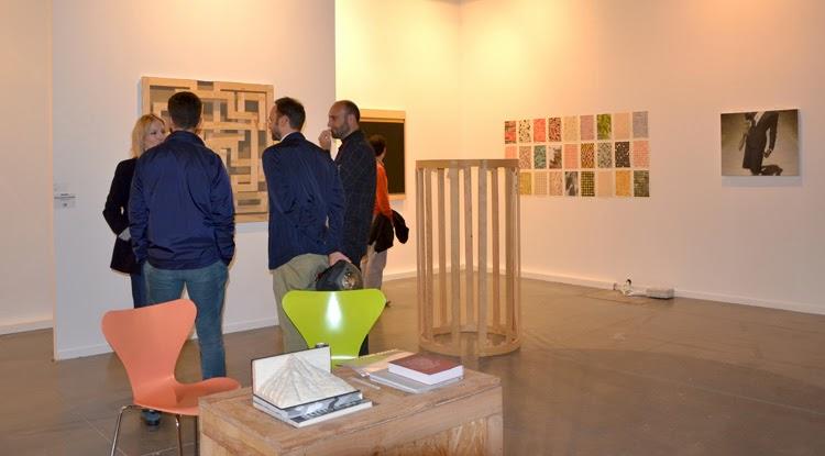 Espacio ferial en la feria de arte contemporáneo Estampa | Stylefeelfree
