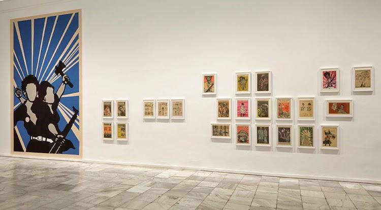 Vista de sala Arte Partisano en el Museo Reina Sofía | Stylefeelfree