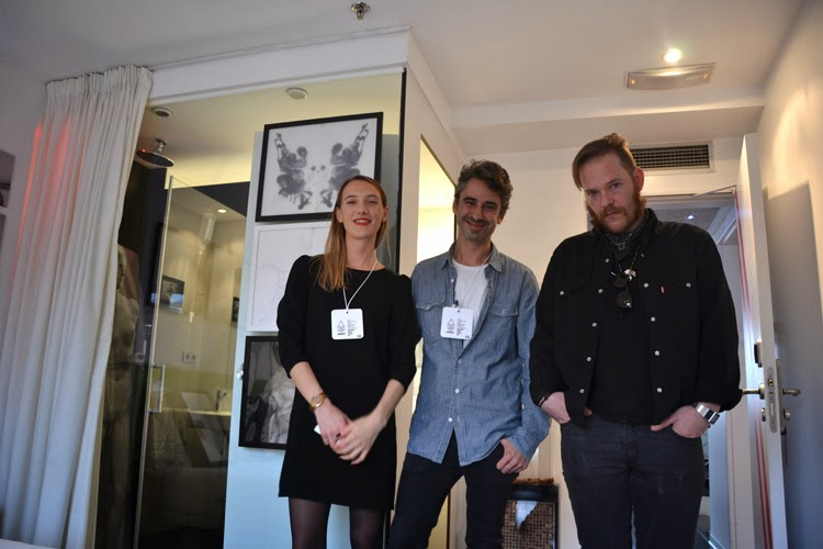 Nino Maza y Celine Beslu en Room Art Fair | Stylefeelfree