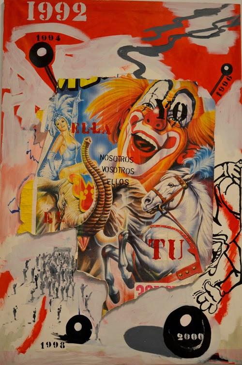 Obra de la artista Patricia Gadea en la exposición Atomic-Circus en el museo Reina Sofía, Madrid | stylefeelfree