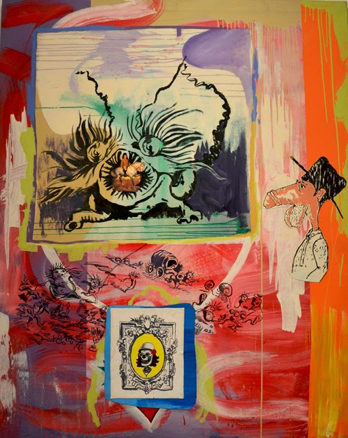 Obra en la exposición Atomic-Circus | Museo Reina Sofía | stylefeelfree
