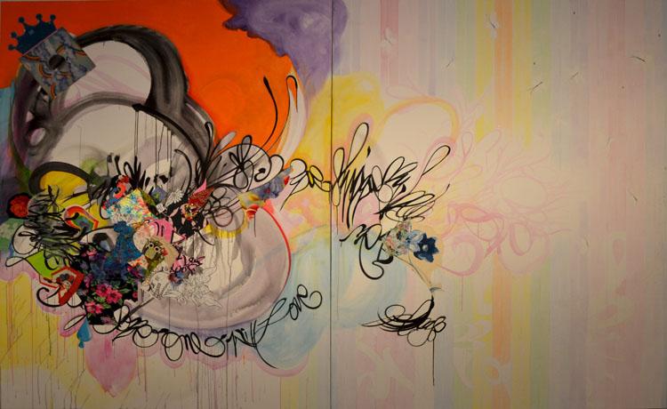 Obra de Shinique Smith en la colección Barrié