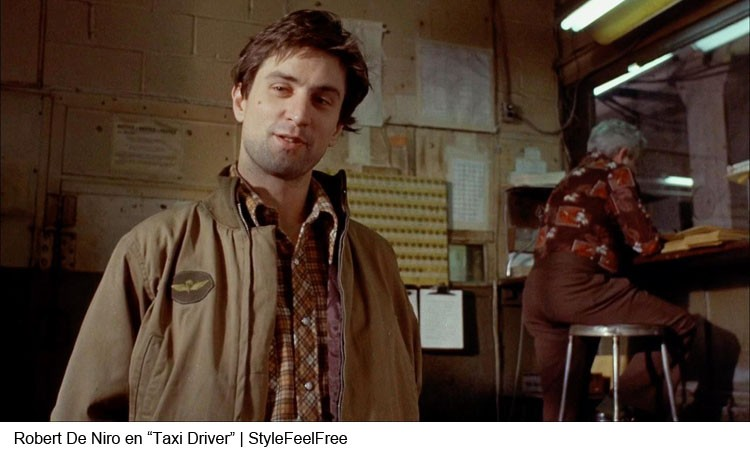 Robert De Niro en Taxi Driver | Stylefeelfree