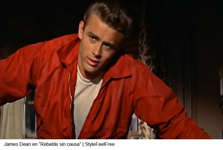 James Dean en Rebelde sin causa | Stylefeelfree