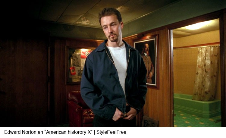 Edward Norton en American History X | Stylefeelfree