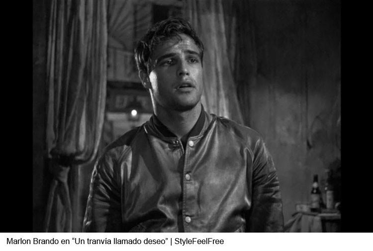 Marlon Brando en Un travía llamado deseo | Stylefeelfree