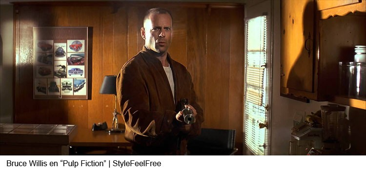 Bruce Willis en Pulp Fiction | Stylefeelfree