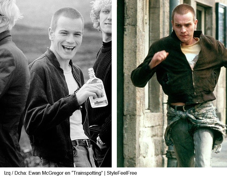 Ewan McGregor en Trainspotting | Stylefeelfre