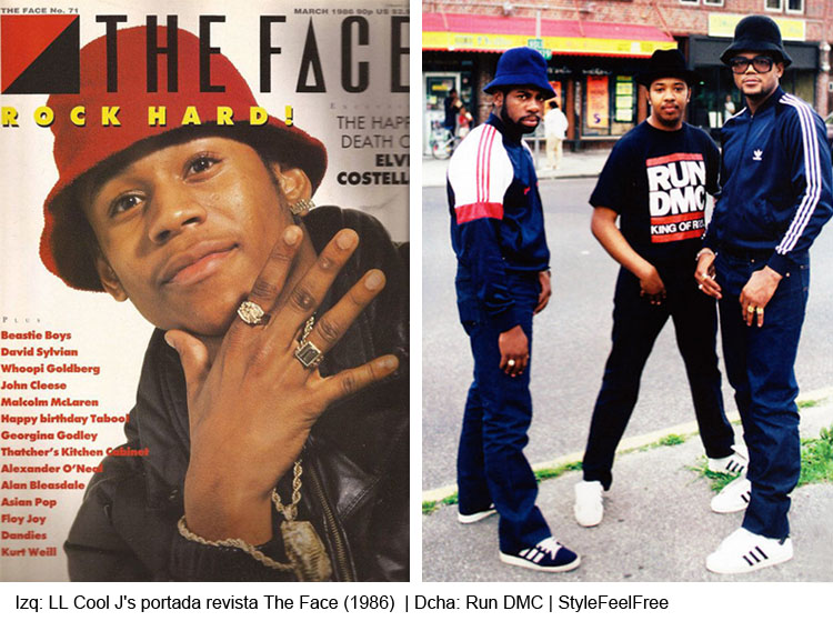 gorros hiphoperos | LL Cool J's | Run DMC | Stylefeelfree