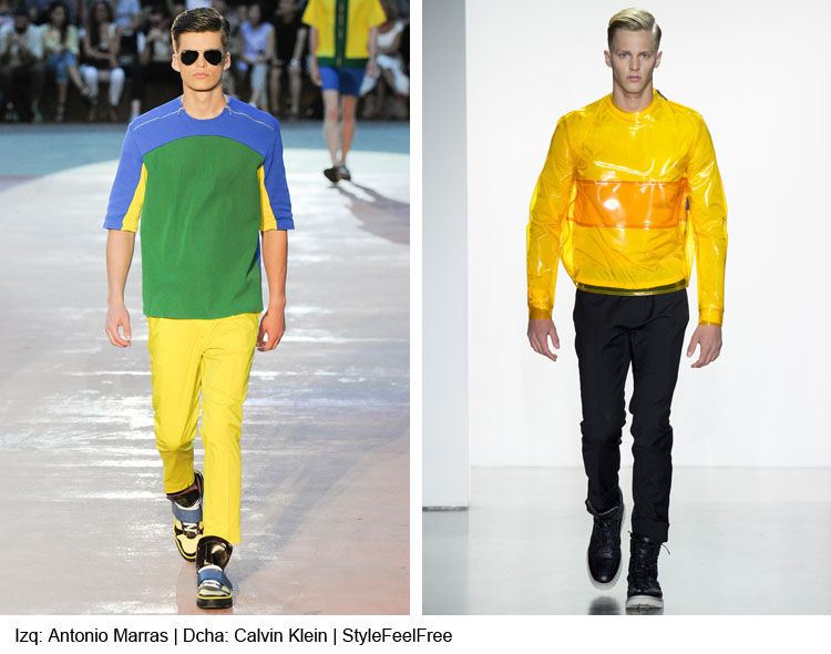 tendencias color moda hombre verano 2015 | stylefeelfree