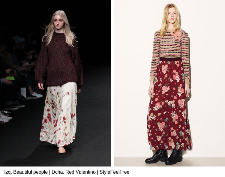 Tendencias Moda Otoño-Invierno 2015-2016: Faldas largas