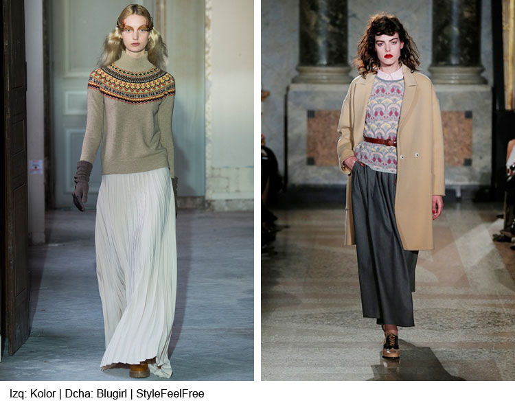 a7755de3f Tendencias Moda  Faldas largas de estilo gypsy o campesino
