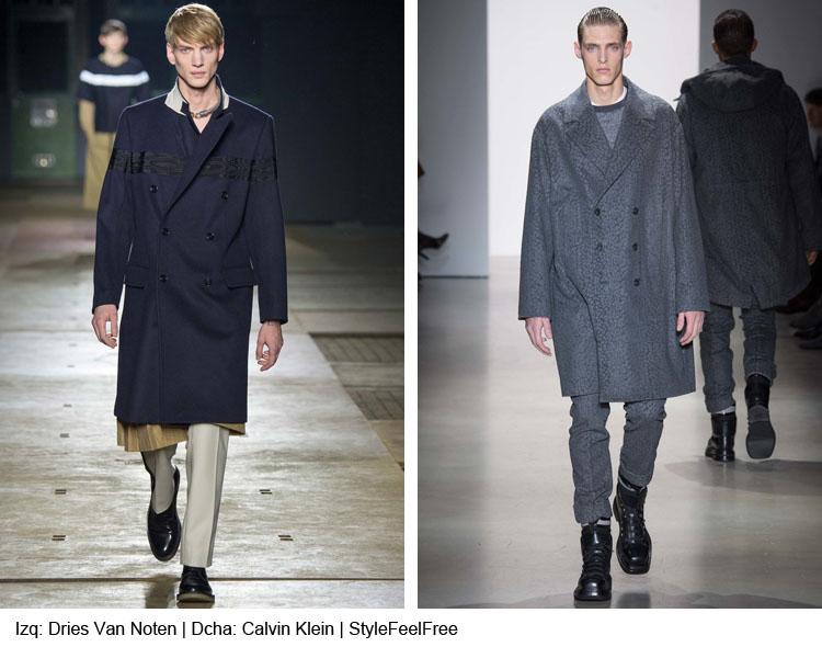 Tendencia en abrigos | Moda hombre  | Stylefeelfree