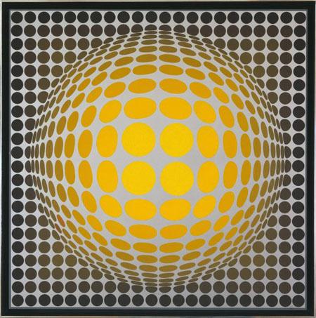 Vasarely, Op Art | StyleFeelFree