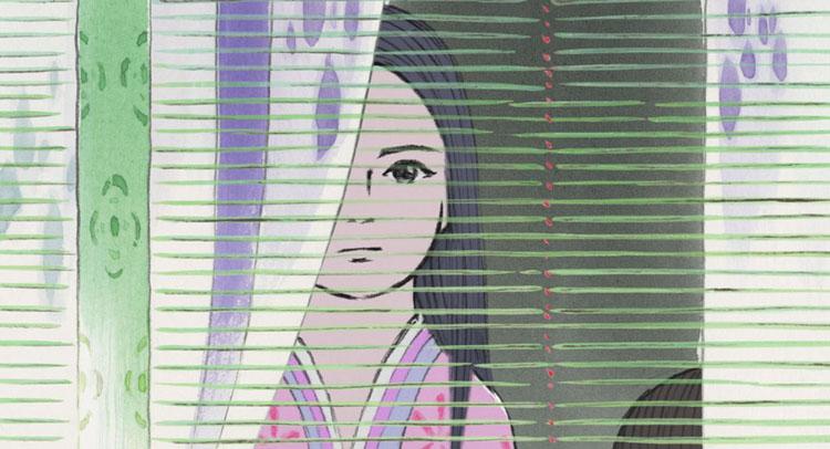 El cuento de la princesa Kaguya | Conmovedora ligereza táctil