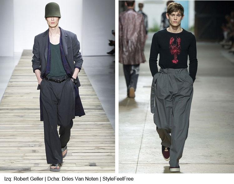 Los Pantalones Baggy Para Hombre Recuperan Su Esplendor Stylefelfree