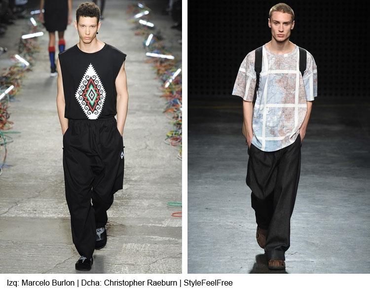 <h3>Tendencias moda hombre: Primavera-Verano 2016: pantalones baggy</h3>