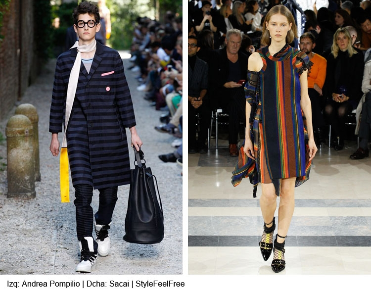 Tendencias moda rayas: Primavera-Verano 2016 por StyleFeelFree magazine