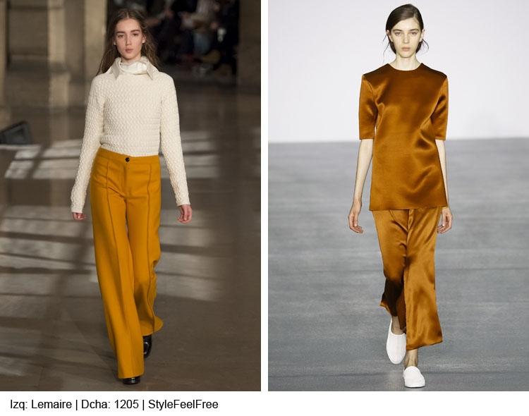 Tendencias moda: del mostaza al verde oliva Otoño / Invierno 2016-17: