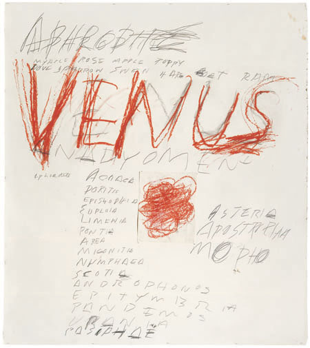 Cy Twombly | StyleFeelFree