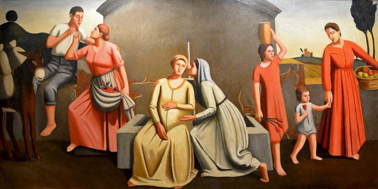 Gisberto Ceracchini | Arte italiano en la Fundación Mapfre de Madrid | StyleFeelFree
