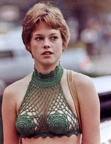 Melanie Griffith con top de crochet | StyleFeelFree