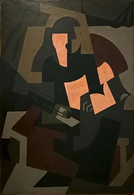 Mujer con guitarra   María Blanchard   StyleFeelFree