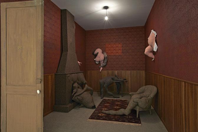 Dorothea Tanning. Parada en la habitación 202