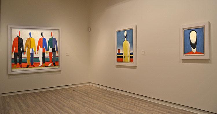 De Chagall a Malévich, un paseo que marca el principio y el fin de la utopía rusa