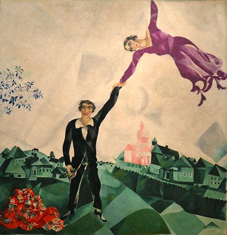 El paseo | Marc Chagall | StyleFeelFree