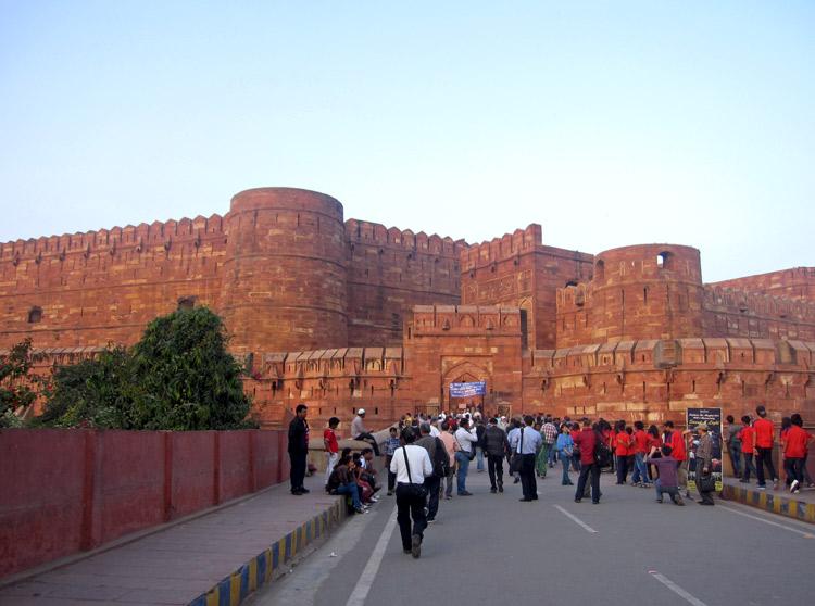 Fuerte Rojo de Agra   India   StyleFeelFree