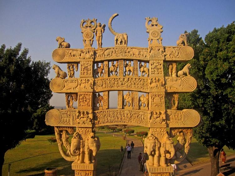 Circuito indio por el arte budista