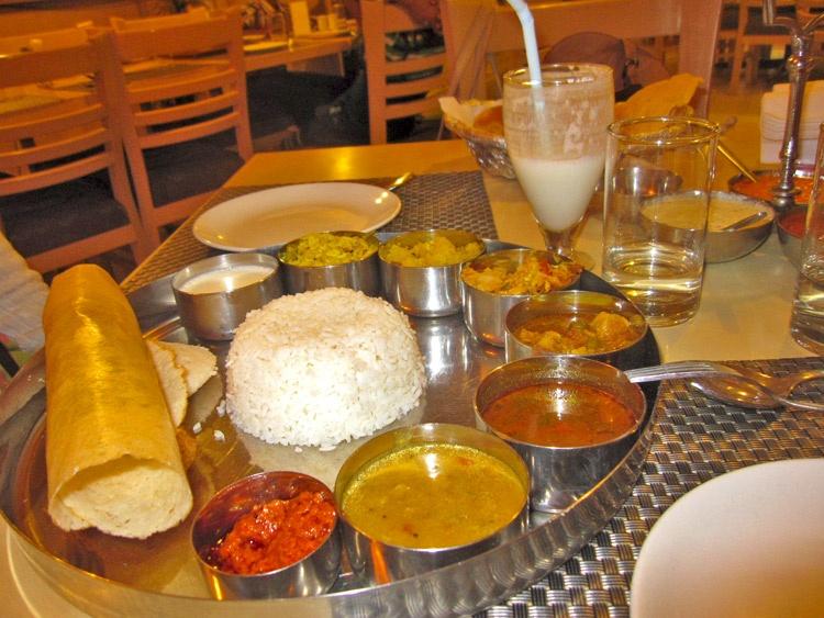 Thali | Gastronomía india | StyleFeelFree